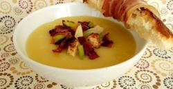 Aardappel creme soep