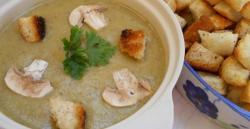 Champignon soup-creme