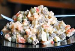 Boeuf salade