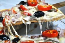 Pizza met 7 toppings