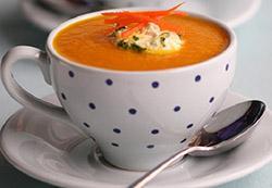 Wortel creme-soup
